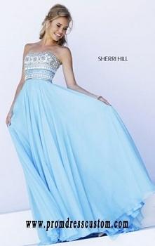 2015 Sherri Hill 11175 Blue...