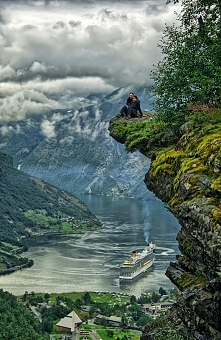 Flydalsjuvet - Norwegia