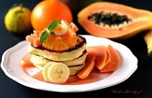 Pancakes na jogurcie greckim