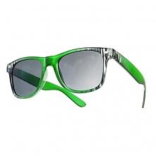 Okulary Strips Zielone