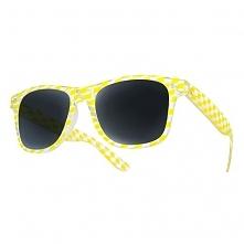 Okulary Dice Żółte