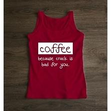 Top damski COFFEE. Idealny w poniedziałkowy dzień :) littlethings.pl