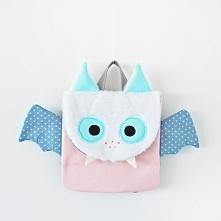 plecak dziecięcy handmade nietoperz od Lady Stump Wszelkie prawa zastrzeżone.