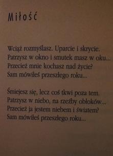 Maria Pawlikowska-Jasnorzewska.  Miłość ♥.