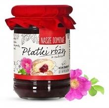 Płatki róży w cukrze (340 g) - Nasze Domowe