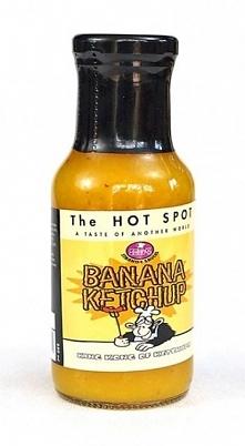 Ketchup bananowy średnio pikantny (250 ml) - The Hot Spot