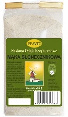 Mąka słonecznikowa (250 g) - Efavit