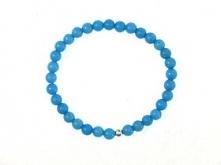 Bransoletka marmur niebieski :)