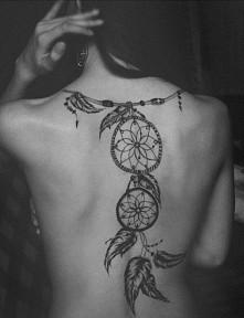 lapacz snów ;-) tatuaż