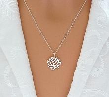Naszyjnik. Kwiat Lotosu!