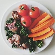 Dwa superfoods na jednym talerzu: wątróbka z jarmużem! Szczególnie polecam włączenie wątróbki do swojego jadłospisu; dzięki tak wysokiej gęstości odżywczej dba ona o nasz układ ...
