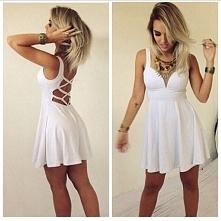 Śliczna biała sukienka Link...