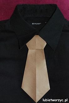 Krawat origami