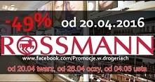 zniżki w Rossmann już od 20.04