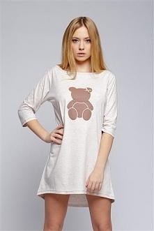 ⭐Coś dla śpiochów! Urocza koszulka Mały Miś;) Całą kolekcję wiosenną na noc znajdziecie na naszym Facebooku ➞ Olive.pl