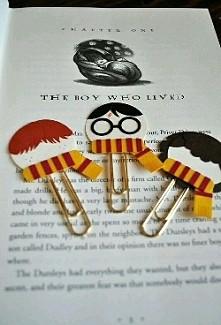 zakładki Harry Potter ;)