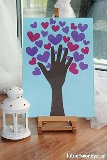 Serduszkowe drzewo - prezen...