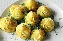 Ziemniaczane rozetki do sos...