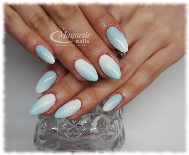 Ombre Oops! Nails by Monika, Studio Magnetic Nails Kielce, SPN Nails Instructor