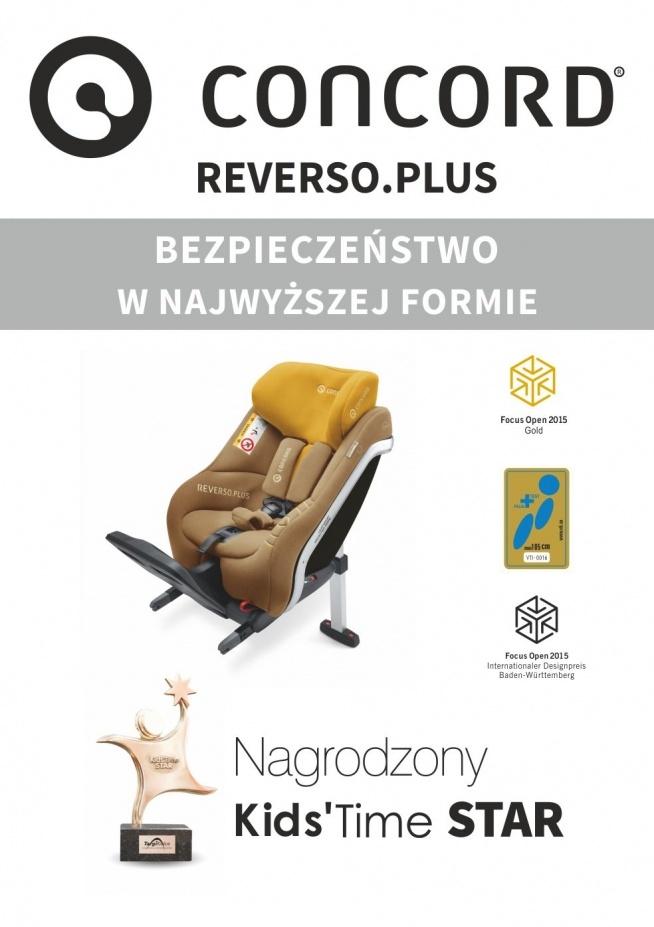 REVERSO.PLUS Najlepszy i najbezpieczniejszy fotelik na rynku :)