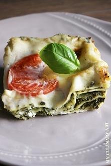 Lasagne szpinakowa - przepis po kliknięciu w zdjęcie