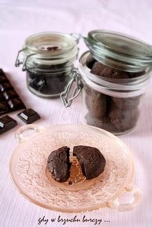 Ciastka czekoladowe z suszo...
