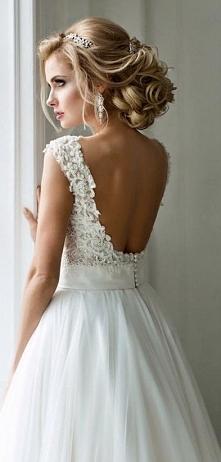 piękne włosy i sukienka <3