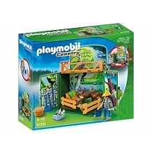 Nowy Zestaw Playmobil 6158 - Karmienie Leśnych Zwierząt z Figurką i Zwierzętami dla Dzieci od lat 4.  W zestawie figurka Playmobil, figurki zwierząt, pokarm, oraz inne elementy....