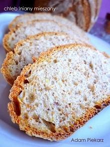 chleb lniany mieszany, prze...