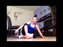 Natalia Gacka - 10 minutowy trening mięśni brzucha z krzesłem