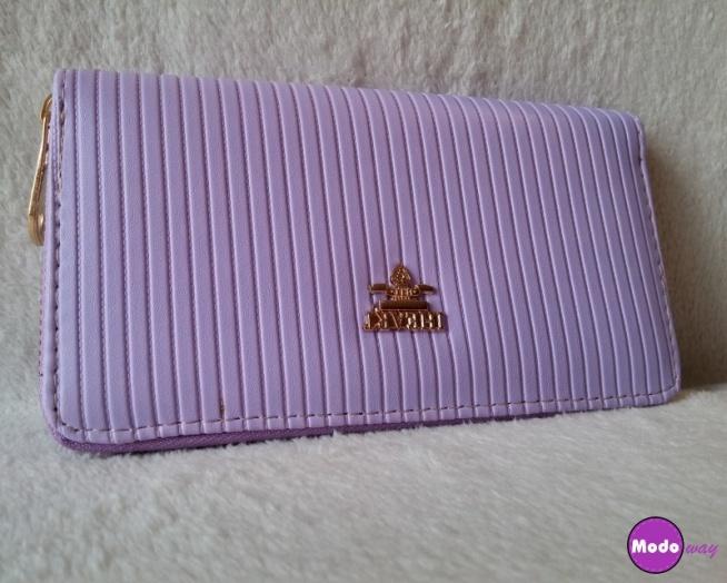 Śliczny fioletowy, bardzo pojemny portfel <3  Dostępny po kliknięciu w zdjęcie lub na modoway.pl <3