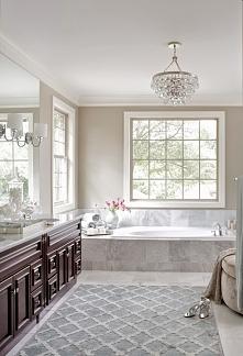 Zapraszam na kolejny wpis z serii 'Amerykański Dom i Wnętrze', w którym dowiesz się jak wygląda amerykańska łazienka, łazienka w stylu amerykańskim - zainspiruj się! Z...