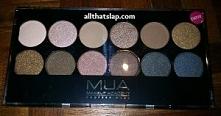 MUA Eyeshadow Pallete - Undressed  Jedyne co można powiedzieć o tej paletce c...