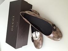I <3 Gucci - moje balerinki z kolekcji Cristall Nylon ;-)