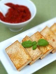 Marynowane tofu z grilla z ...
