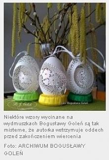 ażurowe pisanki - BJGoleń Poniatowa Polska