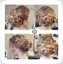 To co lubię najbardziej !!!  szybka fryzurka z czterech warkoczy i taki efekt! Jak Wam się podoba??