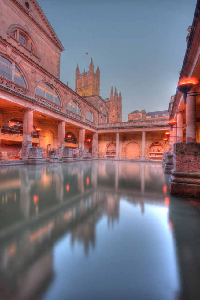 Roman Baths, Anglia