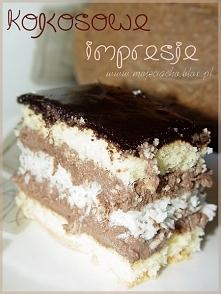 Pyszne ciasto KOKOSOWE IMPR...