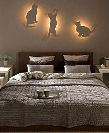 Oświetlenie sypialni.
