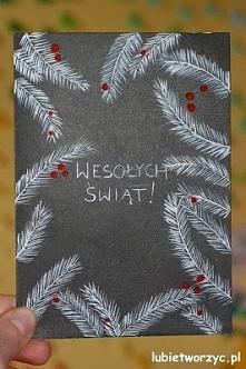 Świąteczna kartka okolicznościowa