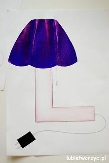"""""""L jak lampa"""" - czyli poznajemy nową literę"""