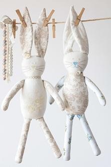 ...króliczki w stylu skandynawskim...