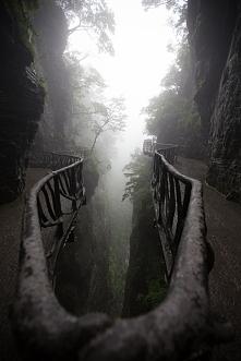 Góra Tianmen Mountain, Chiny