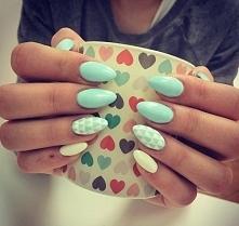 Cudowne pastelowe paznokcie
