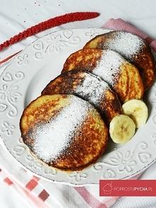 Owsiane placuszki bananowe 3 SKŁADNIKOWE! :)
