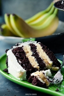 tort bananowy  Składniki: B...