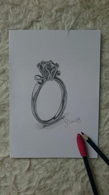 """Moja praca """"pierścionek"""" ...i jak?"""