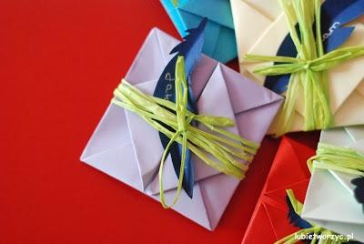 Jak zrobić kopertę origami ;)