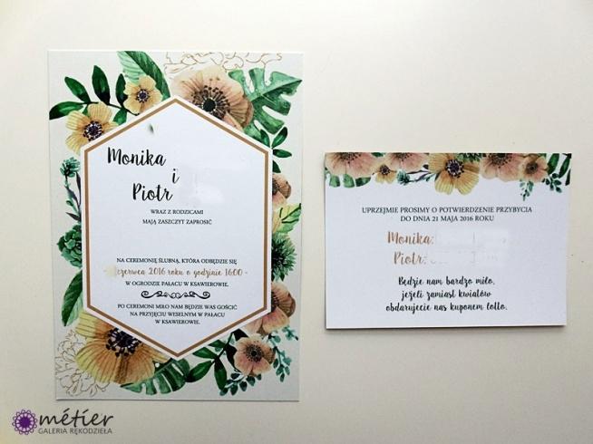 Zaproszenia ślubne  #weddinginvitations #zaproszenia #zaproszeniaślubne #wedding #wesele #kwiaty #kwiatowewesele #flowers #flowersweeding